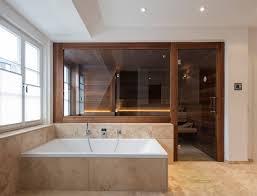 maßarbeit für eine design sauna im altbau