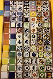Mexican Tile Saltillo Tile Talavera Tile Mexican Tile Designs by 35 Best Mexican Tiles Images On Pinterest Mexican Tiles