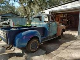 100 1951 Chevy Truck For Sale Chevrolet 3100 For ClassicCarscom CC1189598