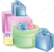 Gift clipart pastel 12