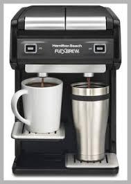 Hamilton Beach FlexBrew Dual Single Serve Coffeemaker 49998
