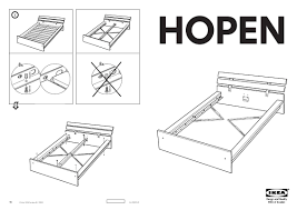 Ikea Malm Bed Frame Instructions by 13 Skorva Bed Instructions Ikea Hemnes Queen Bed Assembly