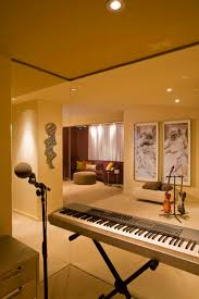 Interior Design Cool And Modern Home Music Studio Ideas