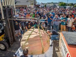 Pumpkin Fest Half Moon Bay by Bring It On Burly Beefy Behemoths Half Moon Bay U0027s 43rd Safeway