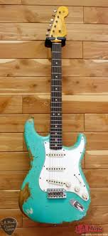 Fender Custom Shop L Series 1964 Stratocaster Super Heavy Relic Sea Foam Green Rosewood 9231990849