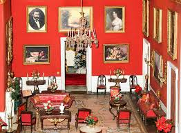 Miniature Red Room Of The White House Photograph By Art Spectrum
