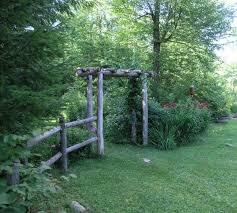 Rustic Garden Arbors