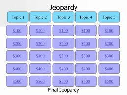 Jeopardy Template With Sound Effects Luxury Free Powerpoint