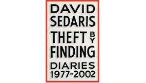 Novel Ideas David Sedariss Theft By Finding