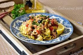 recette de pate au thon pates au thon tomates et olives le cuisine de samar