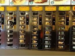Vending Machine Restaurant In The Netherlands