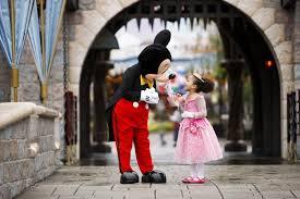Disneyland Resort Mickey and Little Princess Aurora