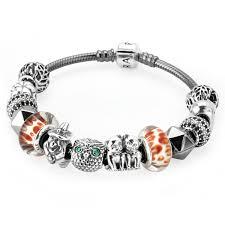 Pandora Halloween Charms by 2016 New Cheap Pandora Grey Double Braided Leather Bracelet
