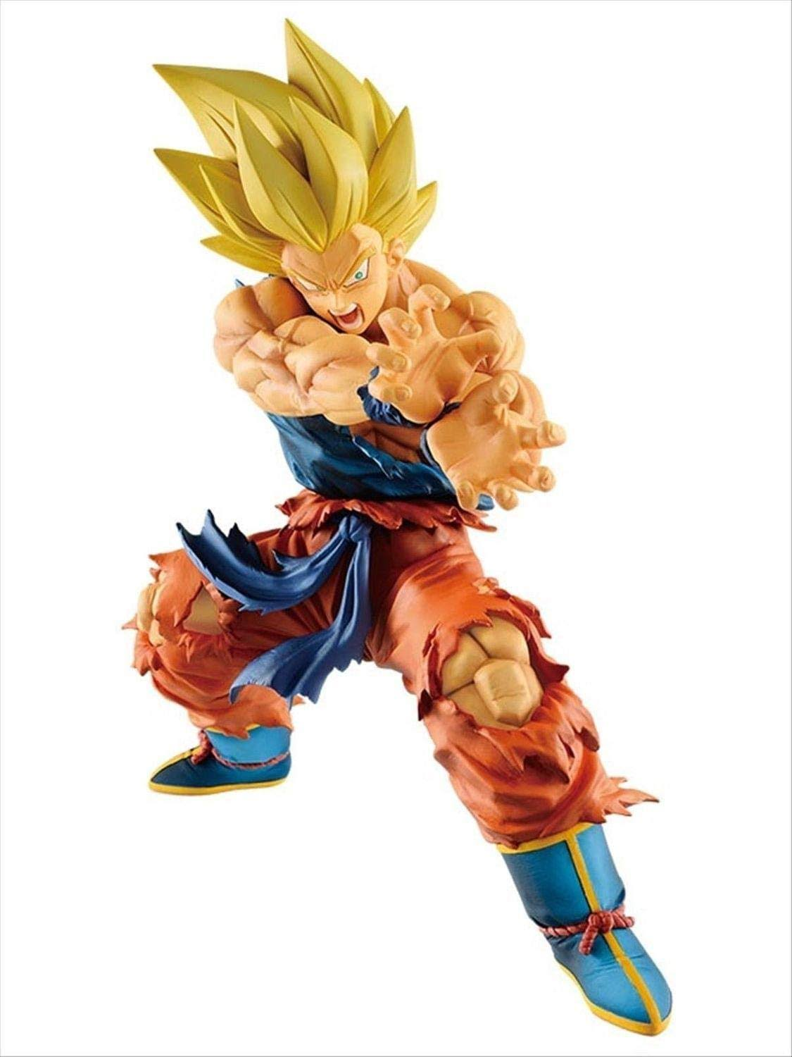 Dragon Ball Legends Super Saiyan Son Goku Kamehameha 6.7 inch PVC Figure