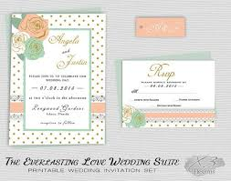 Printable Rustic Wedding Invitation Country Barn Pastel Floral Shabby Chic Invite