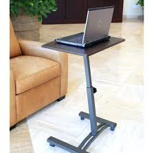 Computer Table At Walmart by Rolling Table Desk Mobile Laptop Cart Portable Rolling Desk Office
