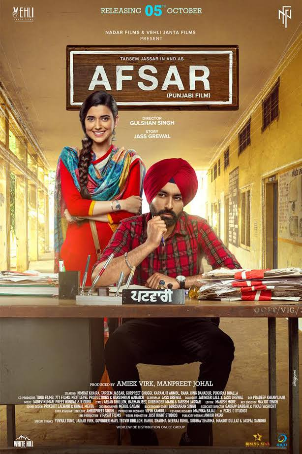 Afsar 2018 Full Punjabi Movie Download 720p HDRip ESubs   G-Drive Link   Watch Online