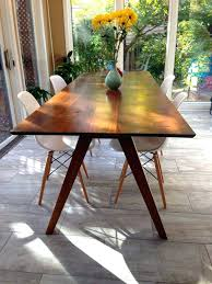 dining table mid century round dining room table target and