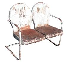 100 1960 Vintage Metal Outdoor Chairs MidCentury Retro Style Modern Architectural Furniture From