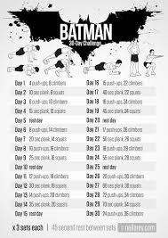 Batman The Long Halloween Pdf Free by Batman Challenge Free Printable Workouts Http Neilarey Com