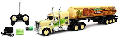 100 Remote Control Semi Truck With Trailer Velocity Toys Egyptian Camel Express 12 Wheel Battery