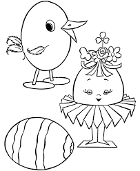 Preschool Easter Coloring Pages