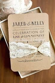Rustic Cheap Wedding Invitations Photo