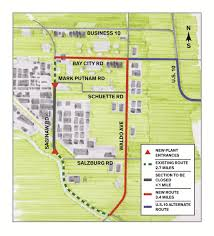 Halloween City Saginaw Mi Hours by City Approves Dow U0027s Proposal To Close Portion Of Saginaw Road