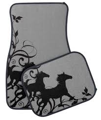 Car Floor Mats by Galloping Horses Equestrian Car Floor Mats The Painting Pony