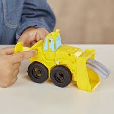 100 Construction Trucks PlayDoh Wheels Excavator Loader Toy