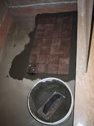 Bathtub Drain Leaking Into Basement by Basement Ceiling Leak U2013 Part 18 U2013 Shower Floor Tile