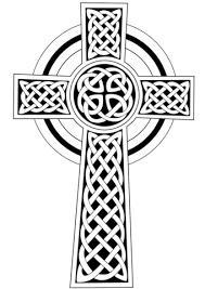 Click To See Printable Version Of Celtic Cross Coloring Page