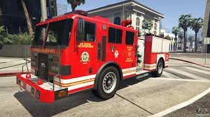 100 Fire Truck Game Where Do You Able To Find Firetruck In GTA 5