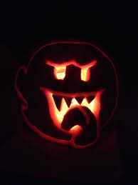 Mario Pumpkin Carving Patterns Free by These Are The Coolest Video Game Themed Pumpkins This Year