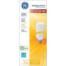 42 watt ge energy smart reg spiral reg t5 cfl soft white staples