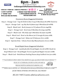 Irvington Halloween Festival Schedule by 2017 Indianapolis Halloween Bar Crawl Saturday Tickets Sat Oct
