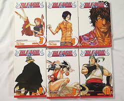 BLEACH Shonen Jump Manga Graphic Novel Comic 20 Assorted Volumes Anime Tite Kubo