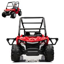 100 Kids Electric Truck ATV Ride On Car 2 Seats With Remote Control For