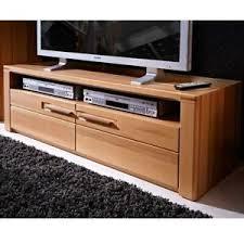 details zu lowboard tv fernsehtisch schrank 130cm kernbuche massiv front wohnzimmer kommode