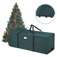 Image Is Loading Rolling Artificial Christmas Tree Storage Bag Box Bin
