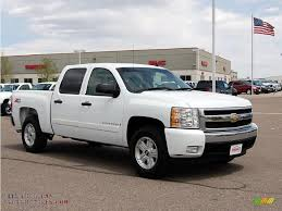 2007 Chevrolet Silverado 1500 LT Z71 Crew Cab 4x4 In Summit White ...