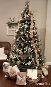 tree decorations ideas with ribbons 25 unique burlap tree ideas on burlap