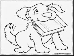 Unbelievable Realistic Puppy Coloring Pages With Of Puppies And Yorkie
