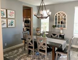 Sherwin Williams Ellie Gray Best Paint Colour With Undertones In Dining Room Kylie M Interiors E Design Online Color Consulting