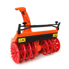 1/16th Snow Blower For Bruder Tractors, MB Actros And MAN Trucks