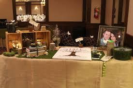 Wedding Welcoming Table