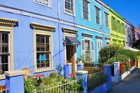 100 Houses In Chile Colorful In Cerro Concepcin Neighborhood In Valparaso