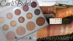 Carli Bybel Halloween 2015 by Carli Bybel Palette Review Swatches In Daylight Bh Cosmetics