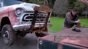 Classic Truck Rescue 1957 Chevy 4x4 Tow - YouTube Tow Truck Old For Sale 1950s Tow Truck While Not The Same Make As Mater This Is A Ford Trucks Wrecker Heartland Vintage Pickups Restored Original And Restorable 194355 Rusty On A Dirt Road Stock Image Of Rusting Bed Options Detroit Sales Lost Found Federal Kenworth Photos Images Junk Cars Roscoes Our Vehicle Gallery Rust Farm 1933 Dodge For 90k Not Mine Chrysler Products American Historical Society
