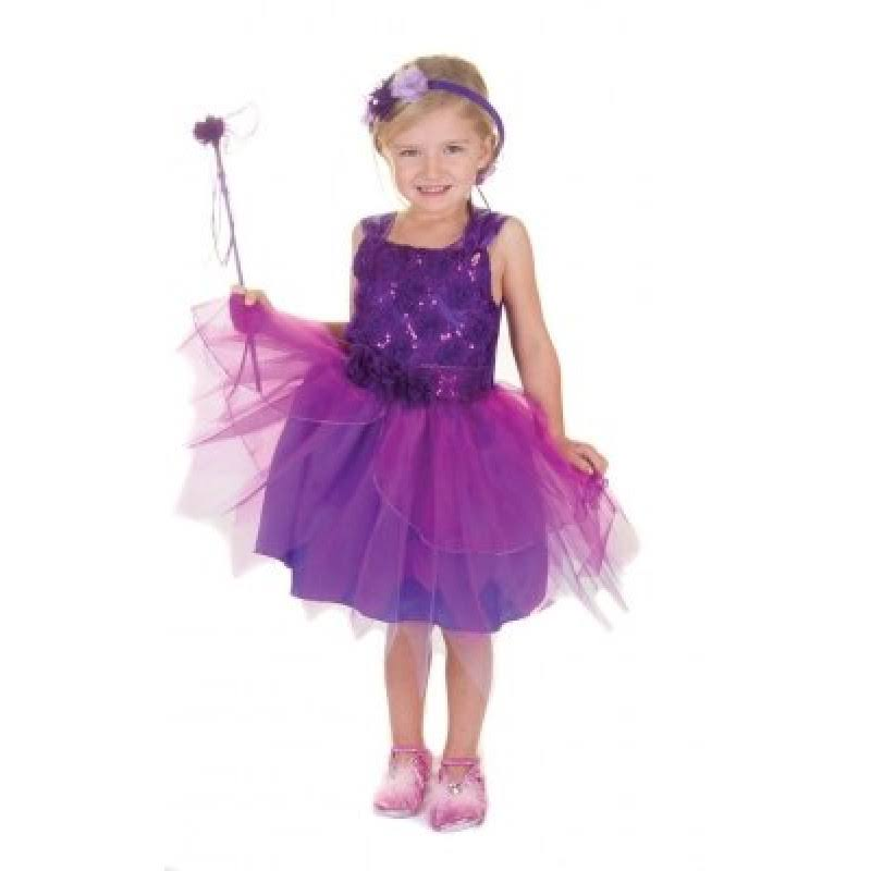 Creative Education of Canada 34745 Violet Flower Fairy Dress Set